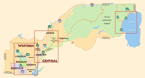 Placer County Map Placer County Bike Map – PCTPA Placer County Map