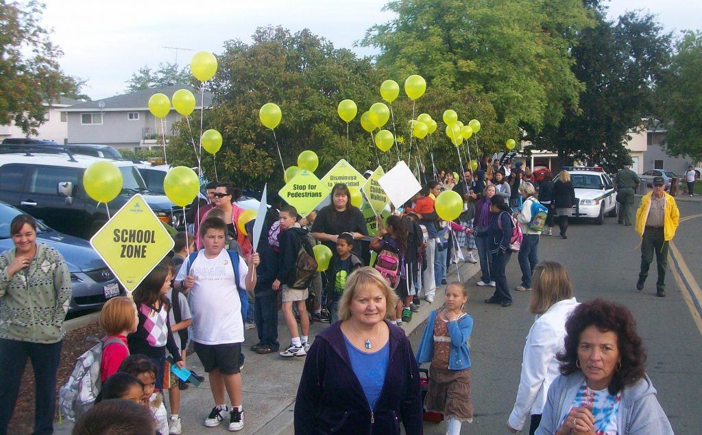 Placer County Walk to School Week