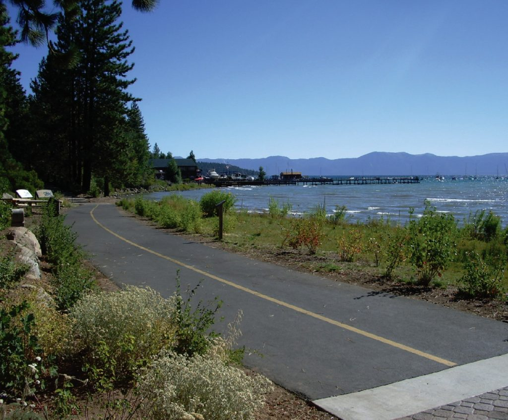 North Lake Tahoe/Truckee Trails - Status Report & Guide for the Future