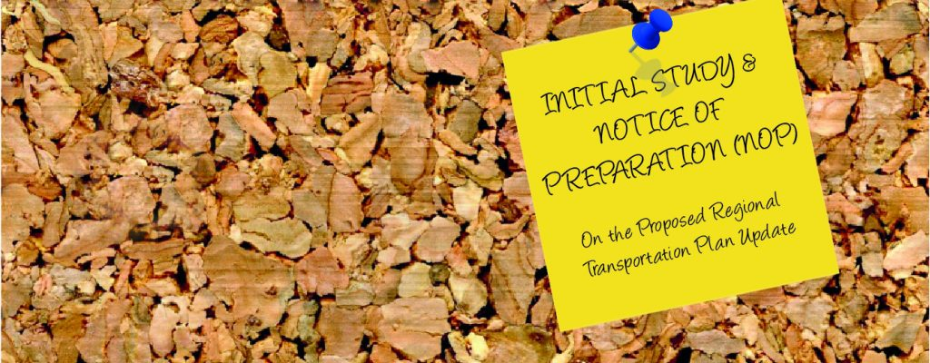 Initial Study and Notice of Preparation