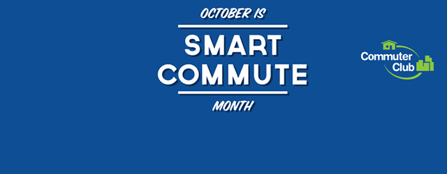 October is Smart Commute Month
