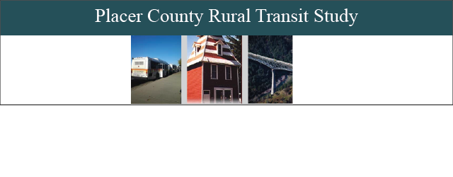 Placer County Rural Transit Study